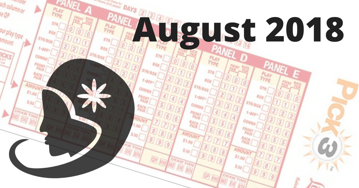 Astrological Lucky Pick 3 and Pick 4 Numbers For August 2018