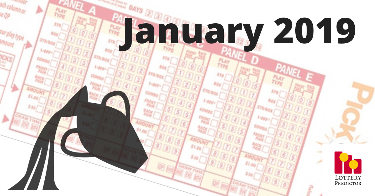 Astrological Lucky Pick 3 and Pick 4 Numbers For January 2019