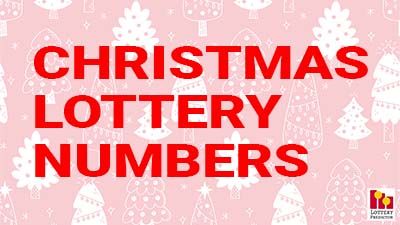 Christmas Lottery Numbers Pick 3, Pick 4 and Pick 5 Dream Words