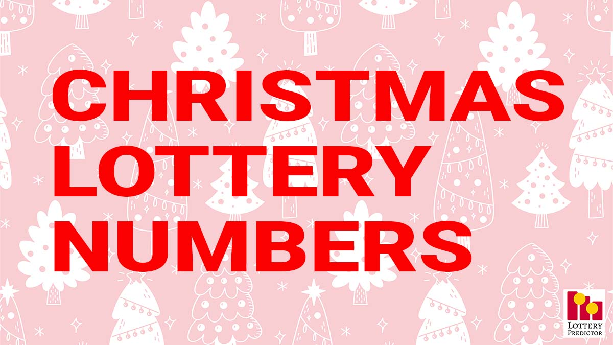 Christmas Lottery Numbers