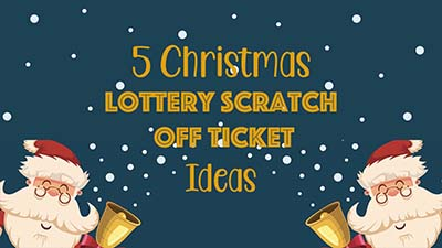 5 Christmas Lottery Scratch Off Ticket Gift Ideas