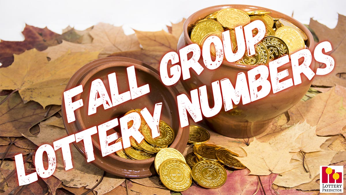 Fall Group Lottery Numbers