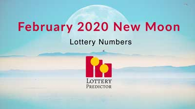 February 2020 New Moon Lottery Numbers