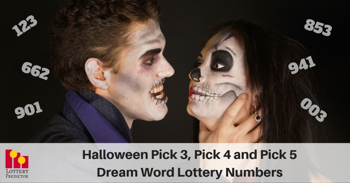 Halloween Dream Lottery Numbers