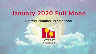 January 2020 Full Moon Lottery Numbers