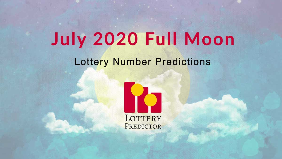 July 2020 Full Moon Lottery Numbers