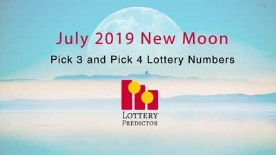 July New Moon Pick 3 and Pick 4 Lottery Number Predictions
