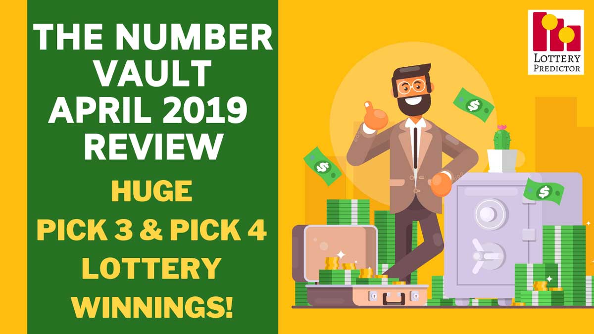 The Number Vault Lottery Tip Sheet April 2019 Performance