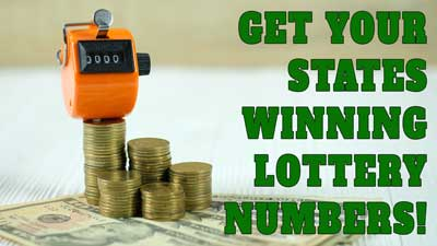 Get A Winning Lottery Strategy For Your State