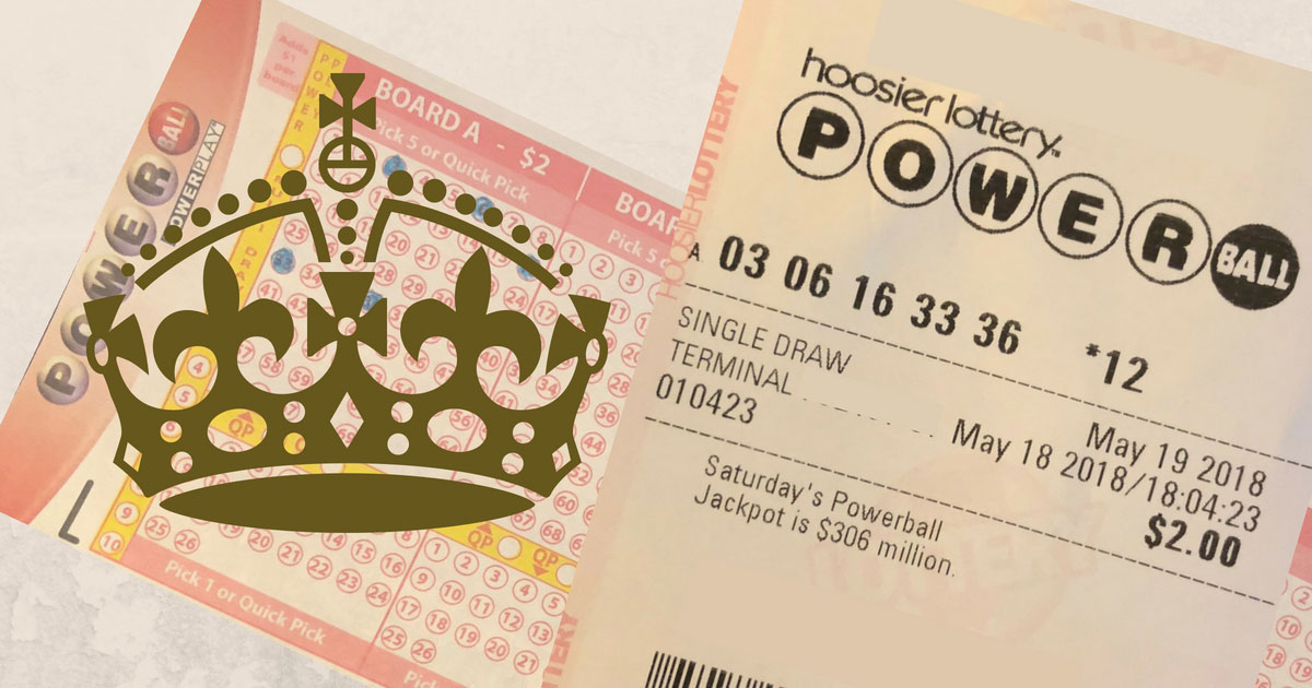 Royal Wedding Powerball Lottery Lucky Numbers