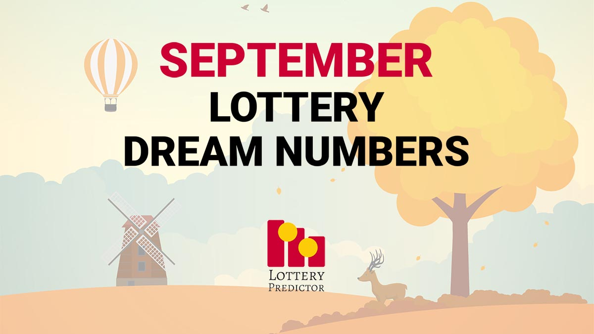 September Lottery Dream Numbers
