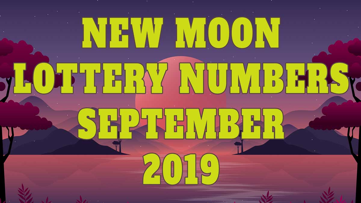 September New Moon Pick 3 and Pick 4 Lottery Number Predictions