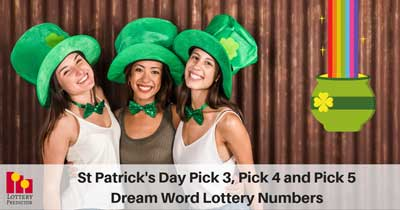 St Patricks Day Lottery Dream Numbers