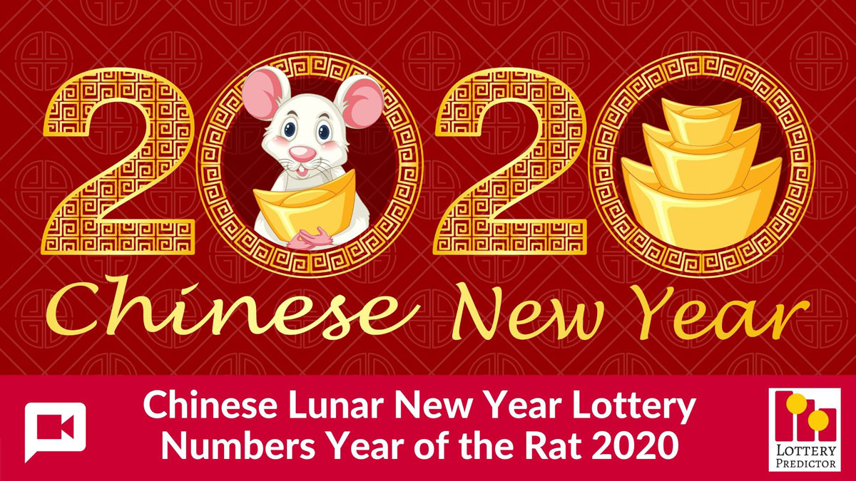 Lottery Numbers For The Year Of The Rat