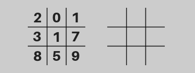 How To Do A Simple Pick 3 Tic Tac Toe Mirror Rundown